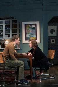 """Lucas Hedges and Elaine May in """"The Waverly Gallery."""" (c) Brigitte Lacombe"""