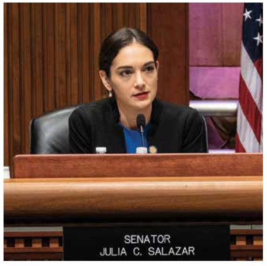 Julia Salazar. Photo by Joan Roth.
