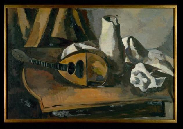 """Still Life"" by Ernst Emmanuel Dreyfuss, date unknown. Art in Exile, Leo Baeck Institute"